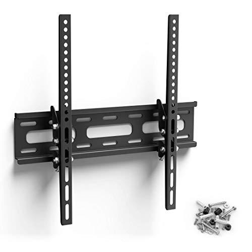 Hama TV-Wandhalterung TILT, neigbar, für 81 cm - 165 cm Diagonale (32 bis 65 Zoll), für max. 30 kg, VESA bis 400x400, schwarz