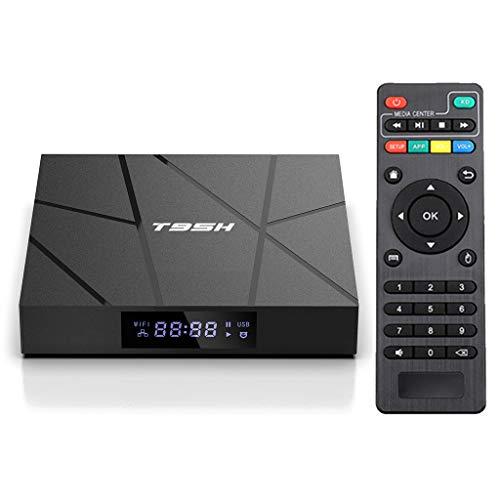 Frotox TV Box AndR Oid 10.0, Compatible con Smart TV Box 4K 3D, Wi-FI 2.4G / 5G / Bluetooth 4.0 / 4K / / USB 2.0 con Control Remoto