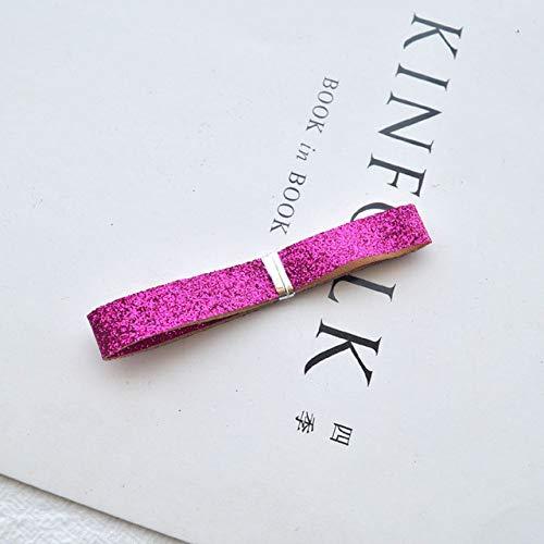 DYL&CDAI Lint 10mm (35cm/veel) Glitter Uien Lint DIY Handgemaakte Headdress Accessoires Lint Haardecoratie Supplies Haarbanden Maken Materialen