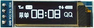 0.91 Inch White OLED Display Module 12832 LCD Screen IIC I2C Serial Port for A-r-d-u-i-n-o - products that work with offic...