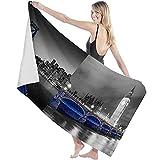 Toalla de Microfibra Secado rápido, Ligera, Absorbente, Suave y grante Yoga, Fitness, Playa, Gimnasio La Hermosa Vista Nocturna del Big Ben Tower Bridge de Londres 130X80cm