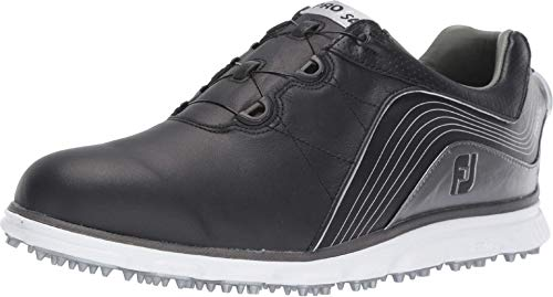 FootJoy Men s Pro SL Boa Previous Season Style Golf Shoes Black 9.5 M Grey, US