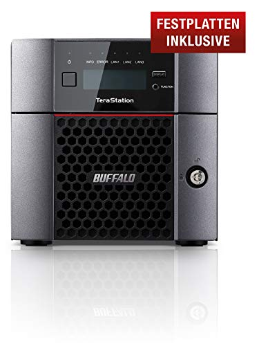 Buffalo, TS5210DN0402-EU, TeraStation, Dispositivo NAS (Network Attached Storage)