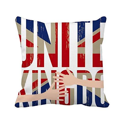 DIYthinker la Grande - Bretagne UK Drapeau Union Jack big Ben câlin Coussin de Couvrir