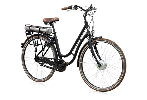 tretwerk DIREKT gute Räder Traveler Retro 28 Zoll Damen E-Bike, Damen-Fahrrad 7-Gang Nabenschaltung
