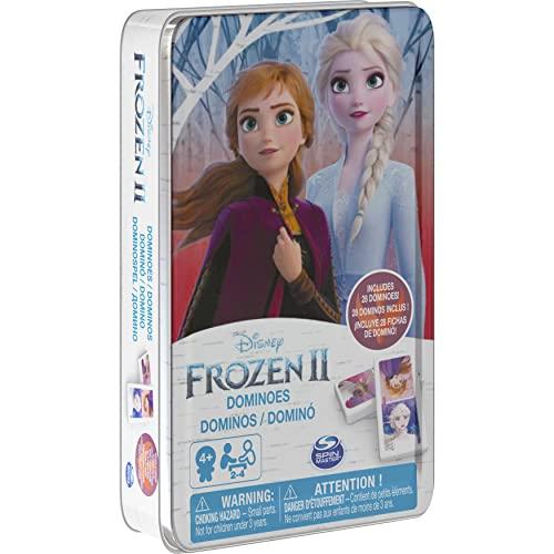 Disney Frozen 2 6053258 - Caja de Metal Dominos Frozen 2