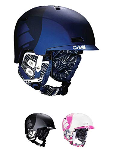 Picture Creative 2 Skihelm, Schwarz Gr. Large, blanc rose