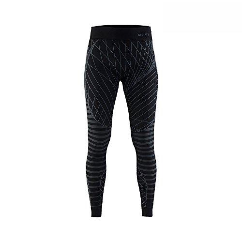 Craft Damen Active Intensity Pants W bl S Baselayer, Black/Granite, S