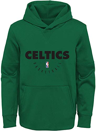 Outerstuff NBA Youth 8-20 Spotlight Performance Wordmark Pullover Hoodie (Youth - Small, Boston Celtics Green)