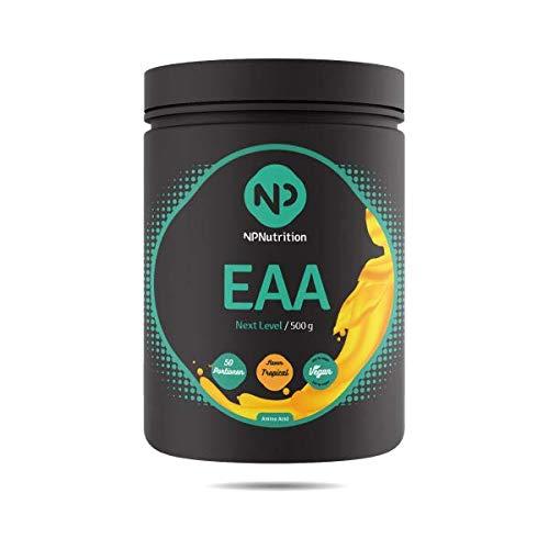 NP Nutrition - Next Level EAA – Formula MAP – 500 g di polvere (Ice Tea Peach)