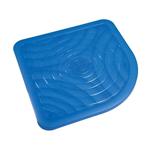 Plataforma de resina azul 50 x 50 cm mod. Oasi