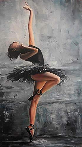 HONGTT Hermoso Retrato De Mujer Bailarina: Cada Pieza Está Hecha De Madera, La Tecnología Significa Que Las Piezas Encajan Perfectamente Rompecabezas De Madera 75X50Cm