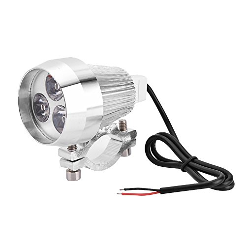 Faros LED Universales para Moto, Luz 6000K, Luz Antiniebla de 40W para...