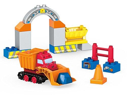 Mega Construx FFF22 - Mattel Bob der Baumeister Buddels Steinverladestation, Spielzeug