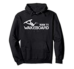 This cool Vintage Hoodie featuring awesome wakeboarder holding wakeboard rope makes a perfect retro gift for all wakeboard enthusiasts 8.5 oz, Classic fit, Twill-taped neck