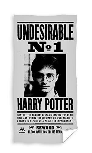 TEXTIL TARRAGO Toalla de Playa Harry Potter 100% Algodon 70x140 cm HP191050