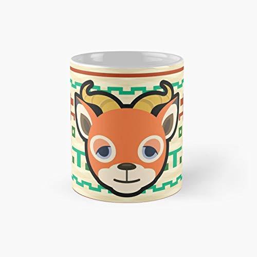 Beau Animal Crossing - Taza clásica con diseño de animales de 325 ml