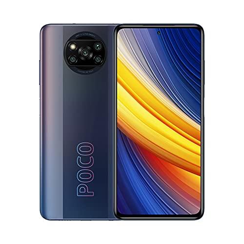 POCO X3 Pro, Smartphone 8+256 GB, 6,67� 120 Hz FHD+ DotDisplay, Snapdragon 860, cámara cuádruple de 48 MP, 5160 mAh, Negro Fantasma (versión ES/PT), incluye auriculares