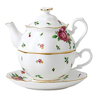 Royal Doulton New Country Roses Tea Party Pink Tea for One