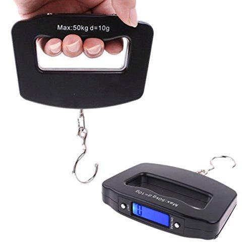 luxury-uk mortaja en varios façons escala de gancho Digital, 50kg/10G portátil LCD Digital Fish Hanging Peso equipaje electrónica herramienta de báscula con gancho