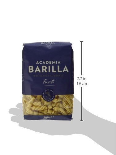 Barilla Pasta Hartweizen Academia Fusilli – 12er Pack (12x500g) - 5