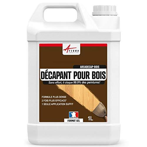 Décapant Bois : Produit décapant peinture et vernis - ARCADECAP BOIS - Gel - 1 L - ARCANE INDUSTRIES