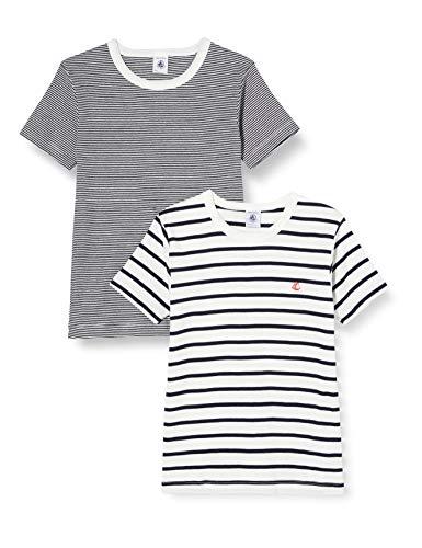 Petit Bateau 5333300 Camiseta, Multicolor (Variante 1 Zga), 4 años para Niños