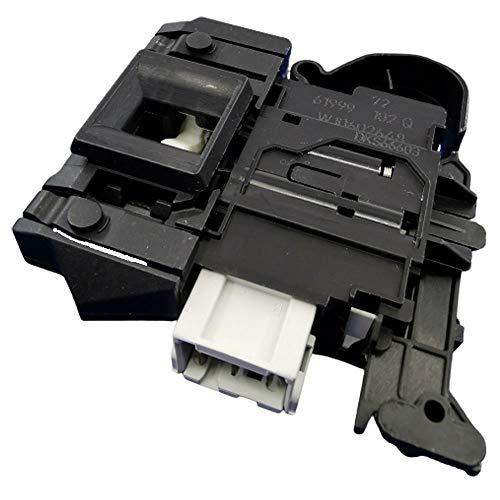 MarelShop - Elettroserratura serratura chiusura blocco porta per lavatrice compatibile con Whirlpool Ignis Bauknecht per modelli: WAPC8S7000 - FSCR80413 - WAO7405 - FSCR70410 - FSCR80410 - FSCR80421