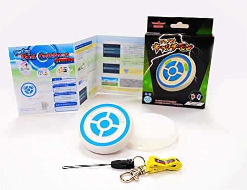 Megacom ポケモンGO用 GO FEST オートキャッチ 自動捕獲 デュアルキャッチモン 二つのID使用可能 遅延なし 電源スイッチ付き 台湾製メーカ正規品 日本語説明書付 ポケモンGO Dual Catchmon Pokemon GO (青)