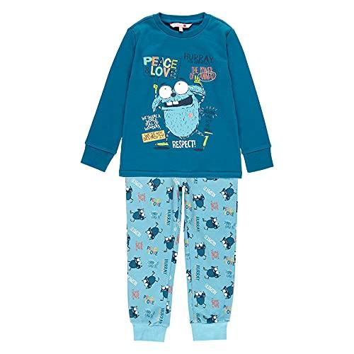 boboli Pijama Interlock Peace & Love de niño Modelo 933061 (8 años)