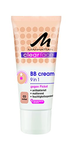 Manhattan Clearface BB Cream 03, 1er Pack (1 x 25 ml)