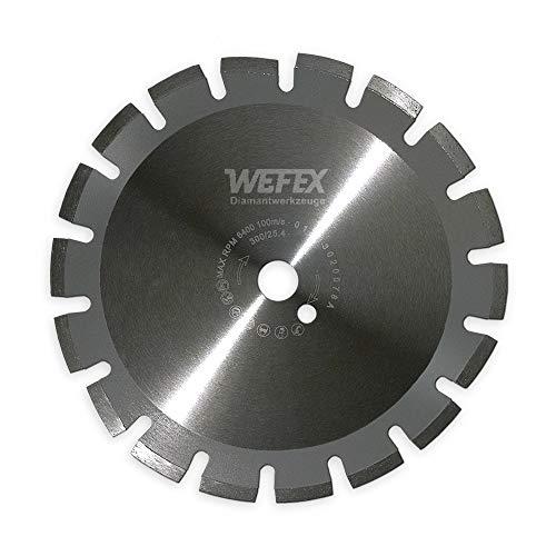 Diamant-Trennscheibe Laser-Asphalt Ø 400 mm Aufnahme 25,4 mm Asphalt abrasive Baustoffe Estrich Kalksandstein Schamotte weich