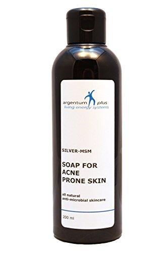 El jabón Plata-MSM para pieles propensas al acné - 200 ml