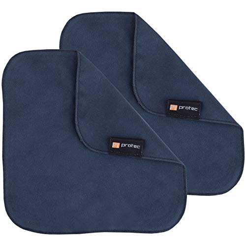 Protec Microfiber Cleaning Cloths (Pair), Size 7 x 7, Model A115