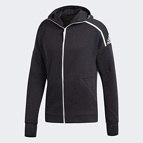 adidas Herren Hoodie ZNE Fast Release, Zne Heather/Black, 2XL, DM5543