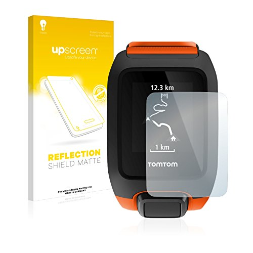 upscreen Entspiegelungs-Schutzfolie kompatibel mit Tomtom Adventurer – Anti-Reflex Bildschirmschutz-Folie Matt