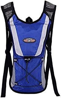 Blue Water Bladder Hiking Camping Riding Cycling Bag Backpack Hydration Pack 2L Protable Bike Bicycle Equipment