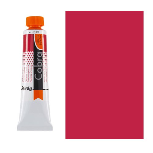 Royal Talens Cobra Artists' Water Mixable Oil Color, 40ml Tube, Pyrrole Red Deep (25053450)