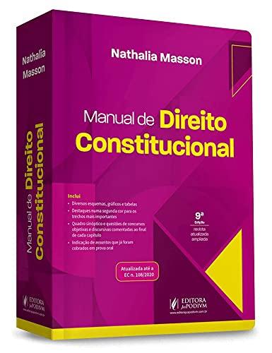 Manual de Direito Constitucional - 9ª Edição (2021)