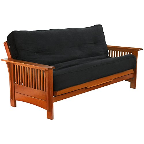 Sale!! Night & Day Furniture Autumn Queen Futon Frame in Cherry Finish Cherry