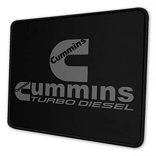 JUNIY Cum-Mi-Ns Tur-Bo Die-Sel Mouse Pad Non-Slip Rubber Base Gaming Mousepad for Laptop Computer Pc
