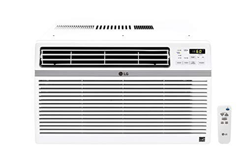 LG LW8016ER 8,000 BTU 115V Window-Mounted Remote Control Air Conditioner, White