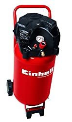 Einhell Compressor TH-AC 240 / 50 / 10 OF (1500 W, 240 l / min suction, 50 l boiler, 10 bar max operating pressure, low oil and low maintenance, pressure reducer, manometer)