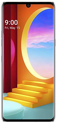 LG Velvet (Aurora Silver, 6GB RAM, 128GB Storage) - P-OLED FHD+ Display   Snapdragon 845 Processor, Small (LMG910EMW.AINDAS)