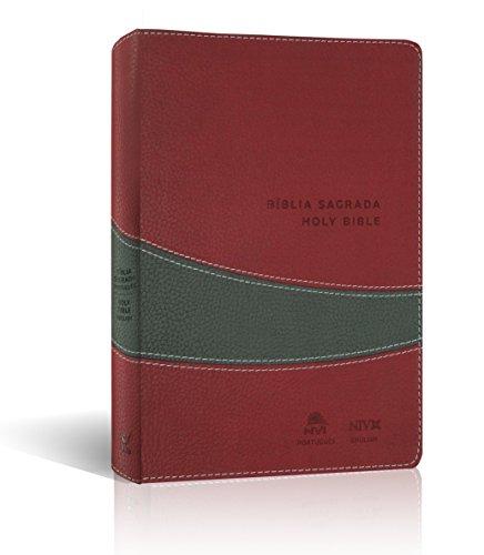 Biblia NVI - Capa Vinho e Cinza
