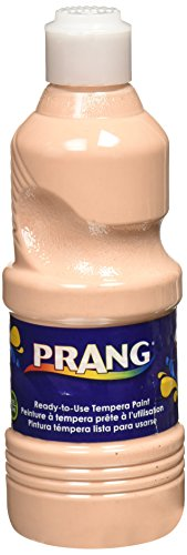 Prang Ready-to-Use Liquid Tempera Paint, 16-Ounce Bottle, Peach (21634)