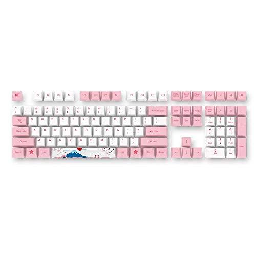 AKKO World Tour - Tokyo 114 Keys Cherry Profile Dyesub PBT Keycaps Keycap Set for Mechanical Keyboard
