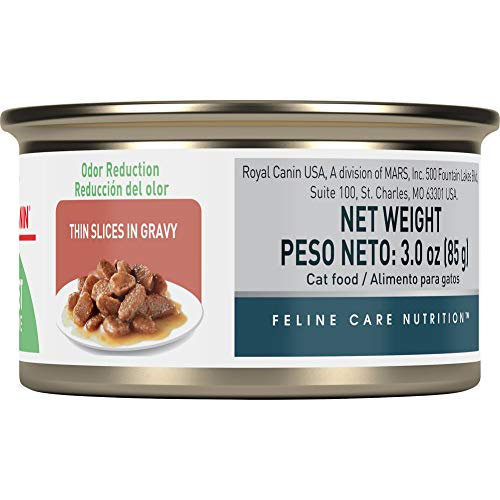 Royal Canin Digest Sensitive Thin Slices in Gravy Wet Cat Food, 3 oz. can
