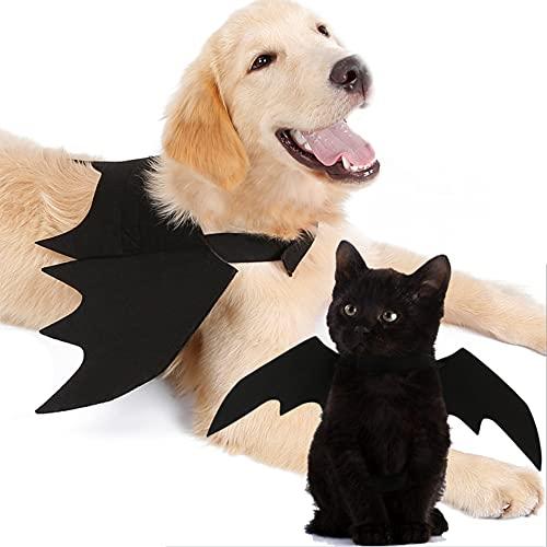 Disfraz de Mascota Perro Gato Alas de murciélago Vestidos S/M/L Tamaño Mascotas Cosplay Batwings Ropa para Mascotas (Pets Cosplay Batwings, Medium)