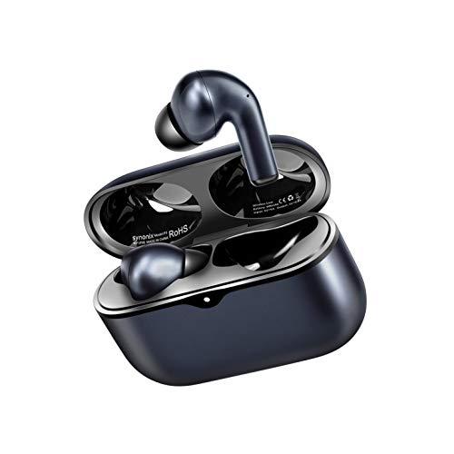 Synonix P3 In Ear Bluetooth Kopfhörer,kabellose Kopfhörer mit Wireless Charging, Wireless Earbuds mit IPX8 Wasserdicht, 40 Std. Akku, CVC 8.0 Noise Cancelling Ohrhörer Bluetooth mit Intensivem Bass